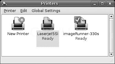 Printer added
