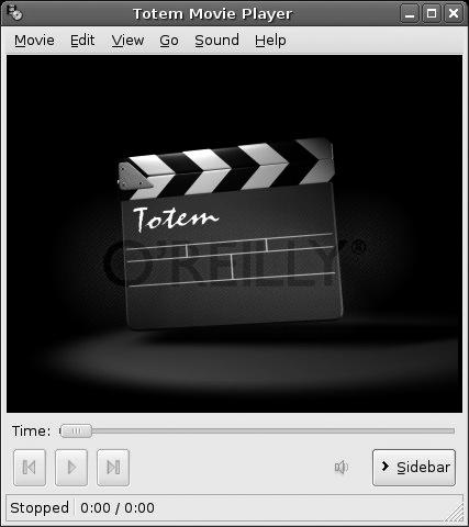 Using Totem for media