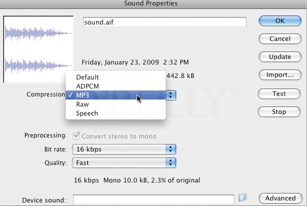 Per-file sound properties