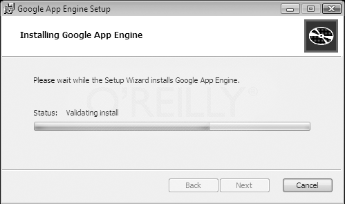 Installing Google Application Engine