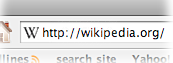 Wikipedia favicon