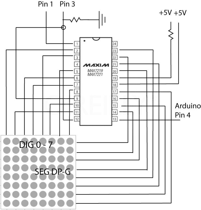 Maxim7221 schematic